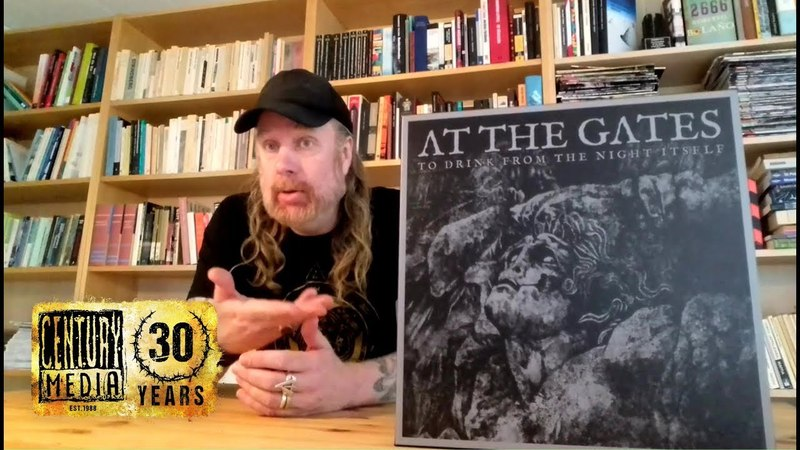 AT THE GATES - To Drink From The Night Itself (Deluxe Boxset Unboxing)