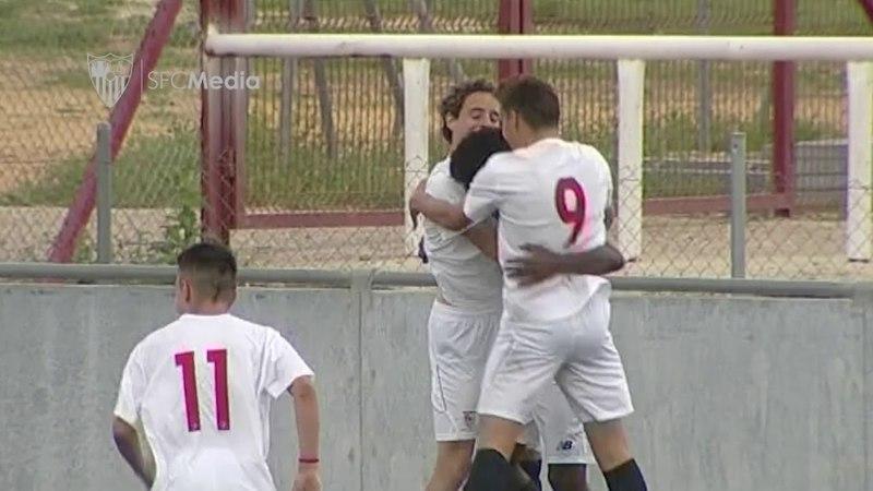 Resumen Sevilla FC 3 0 AD Nervión 1ª Andaluza Infantil 29 03 18 Sevilla FC смотреть онлайн без регистрации