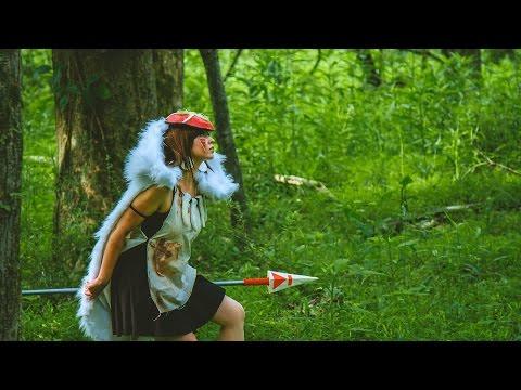 Princess Mononoke Cosplay Makeup - NYX FACE AWARDS 2016 TOP 20 - Anime Challenge