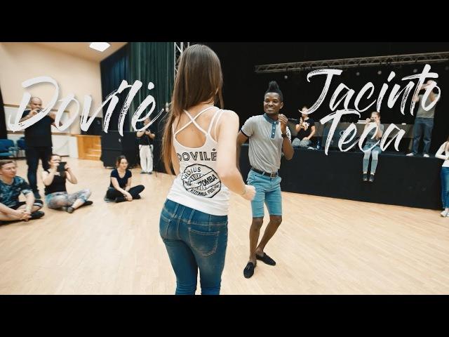 Semba dance - Jacinto Teca Dovilė - Vilnius Kizomba Festival 2017