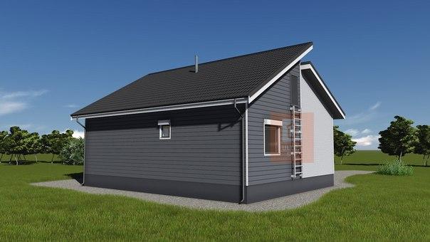 Взяли в работу интересный и симпатичный дом в скандинавском стиле в Орехово 👍👍👍 #ультрасип_орехово