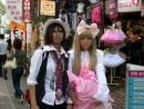 Улица косплееров в Японии