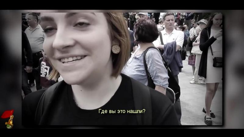 Киевская националистка. Жесть !!
