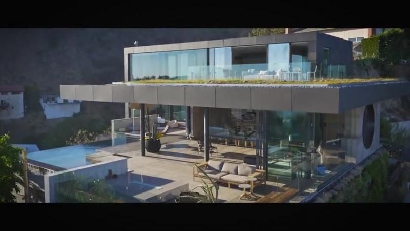 В этом доме вы получите все, что захотите, Голливудские холмы_ Luxury estate