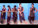 How To Drape The Dhoti Style Sari saree design ideas wedding guest engagement reception