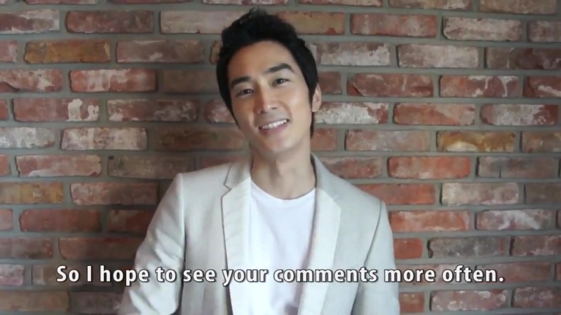 Сон Сын Хон открыл свой фейсбукОбращение к фанам Song Seung Heon Facebook message to all fans - 10.4.2012