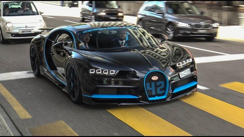 The Ultimate Bugatti Chiron in Zürich on th Road!