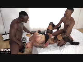 Sophie Anderson [ Big boobs &  Negros &  In stockings &  Double penetration / Deep blowjob, Ass, Tattoo, Shaved, Beautiful l