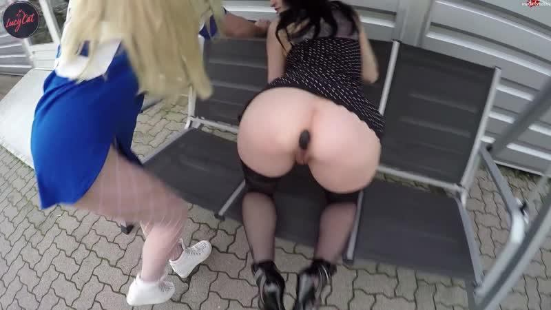 Lucy Cat PERVERSER PUBLIC EINKAUF Gape Lesbian Amateur Homemade German Outdoor Sex Creampie Anal