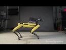 Робота из Boston Dynamics научили танцевать под Uptown Funk и это просто охуенно.