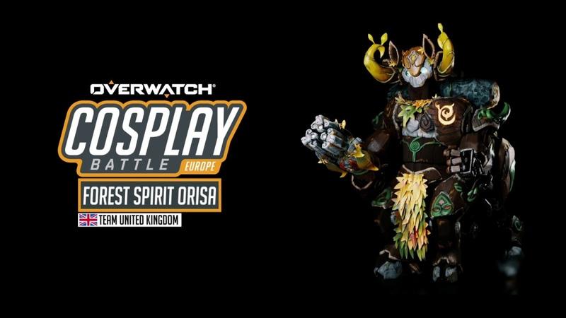 Overwatch Cosplay Battle | Forest Spirit Orisa | Team UK