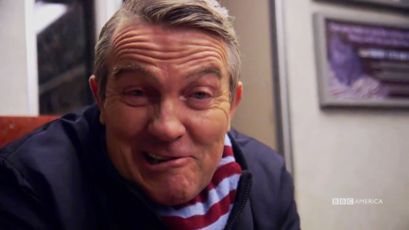 Props on a Train | Bradley Walsh Video Diary | Doctor Who | BBC America