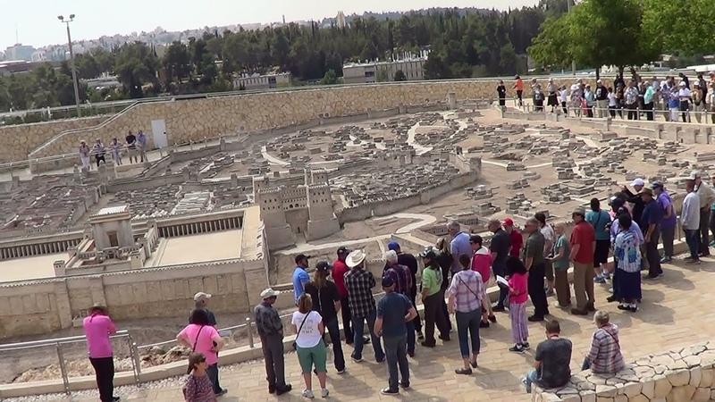 Israel. Jerusalem. Макет Иеруcалима 66 года н. э.