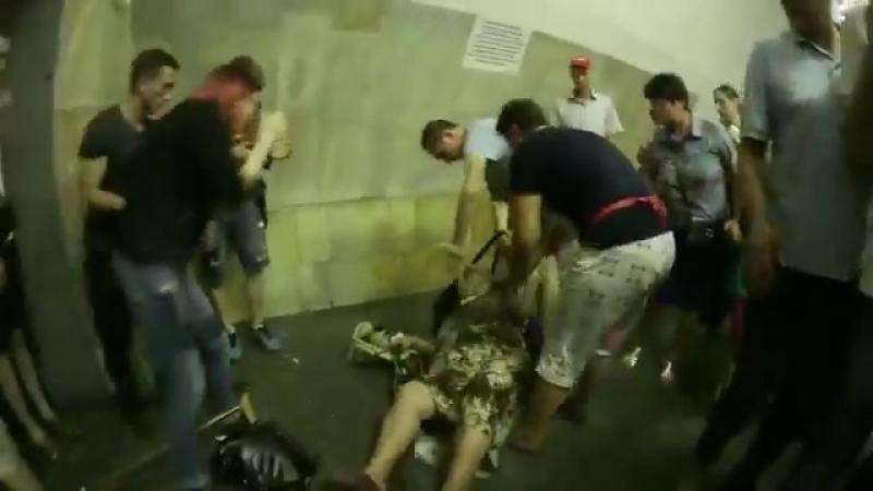 В Києві бабця ледве не загризла котеня в метро