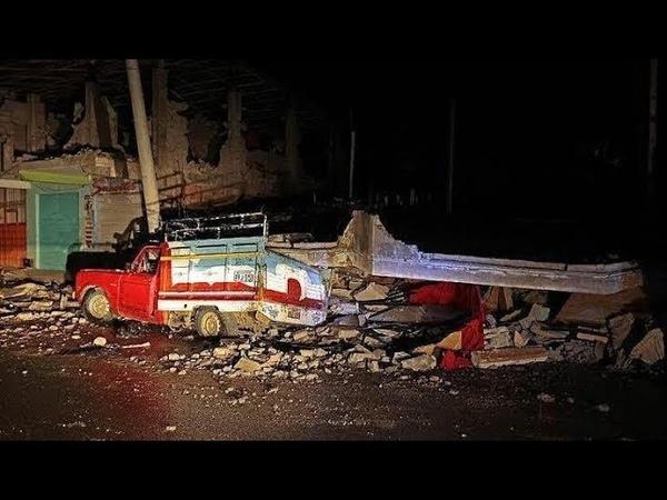 Землетрясение магнитудой 8.0 в Бразилии | A strong earthquake of magnitude 8.0 in Brazil