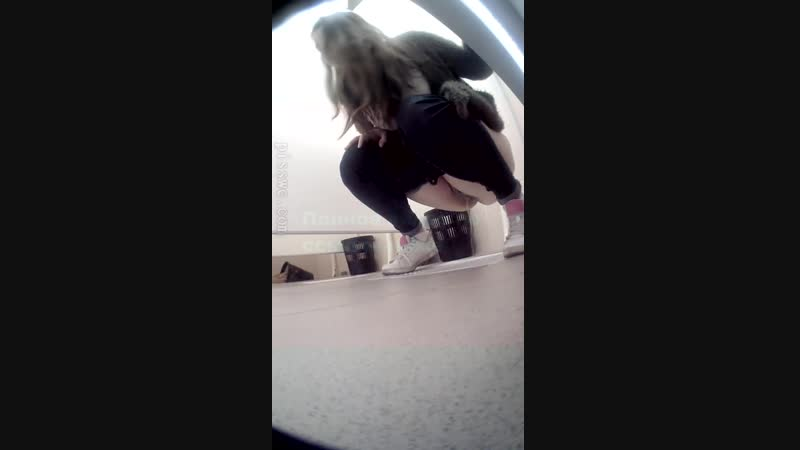 Скрытая камера в женских туалетах