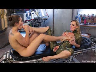 Tanya Tate & Dani Daniels [HD Porn, Foot Fetish Sex, Lesbian, Femdom, Feet, Big Tits, Femdom, Big Ass, Toes, Stockings]