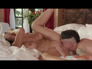 Reagan Foxx and her Stepson Catch Each Other Masturbating and th