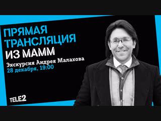 Экскурсия Андрея Малахова из МАММ