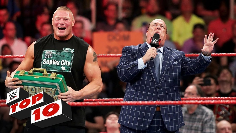 Top 10 Raw moments WWE Top 10 May 20 2019
