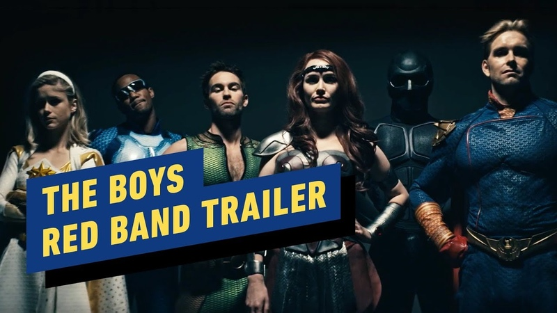 Amazons The Boys Red Band Teaser Trailer