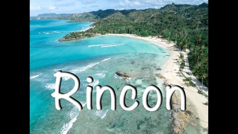 Dominican Republic - wild beach Rincon (Доминикана - дикий пляж Ринкон) 4K