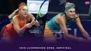 Belinda Bencic vs. Dayana Yastremska 2018 Luxembourg Open Semifinal WTA Highlights
