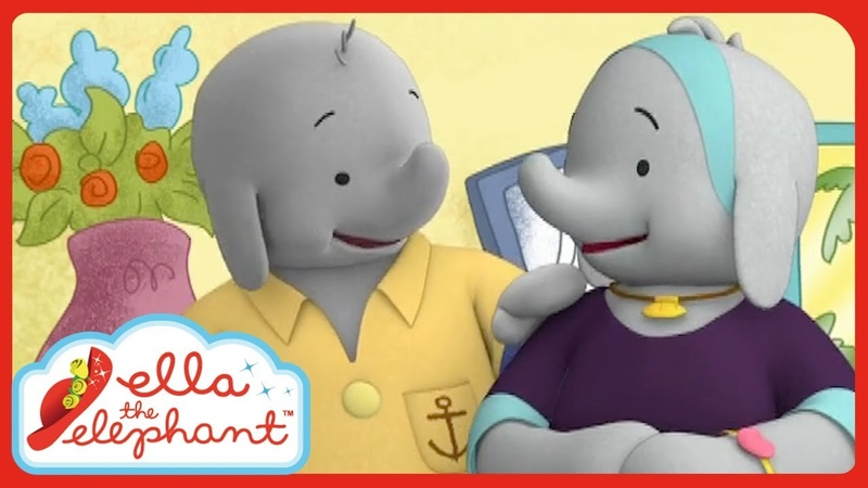 Ella the Elephant Captain Grey and Mrs Grey's Best Moments
