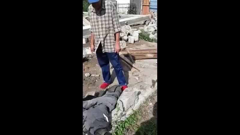 Житель Нижнекамска принял бетонные блоки за замурованных в цементе женщин