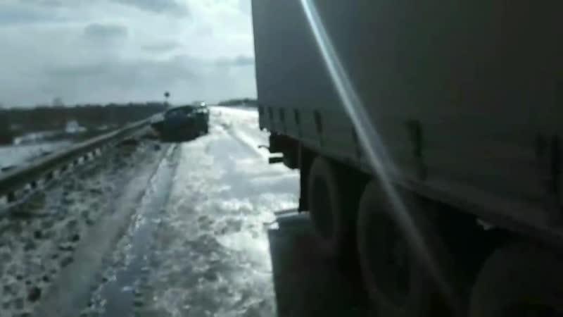 Смертельная авария на автодороге восточный обход Челябинска (15.03.2019)