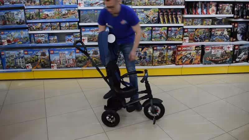 НОВИНКА! ВИДЕООБЗОР трехколесного велосипеда QPlay Rito