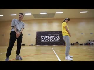 Алексей Летучий с Alisa Tsitseronova, worldwidedancecamp2019