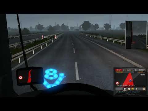 Прохождение Euro Truck Simulator 2 взял важный груз