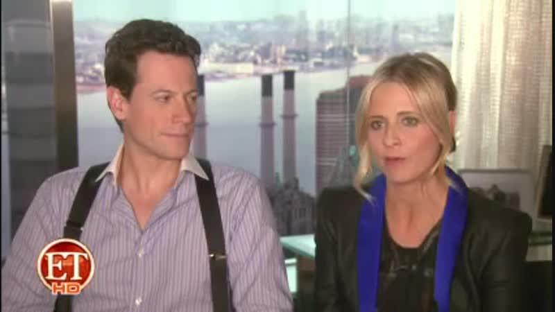 2011 10 Интервью Сары и Йоана Гриффита для ET о сериале Двойник
