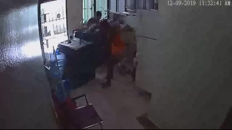 Взрыв газа на кухне