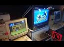 игровая программа в Музее компьютеров огонь
