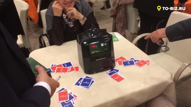 🔥Робот-дилер. Автоматическая раздача карт