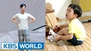 Seungjae breaks down in tears seeing his daddy so small The Return of Superman 2017 06 18