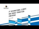 3rd International climate and energy transition conference