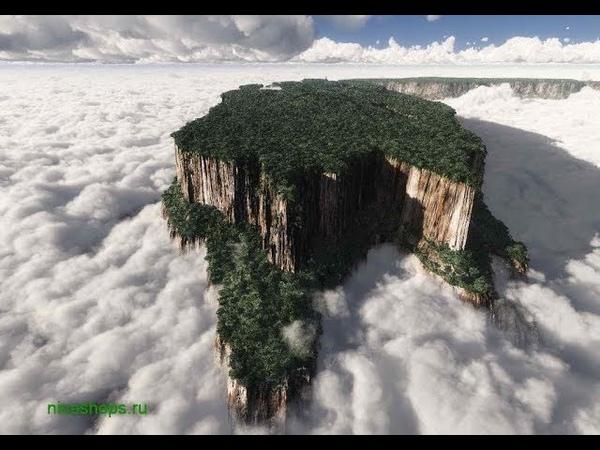 Столовые горы или пни от гигантских стволов