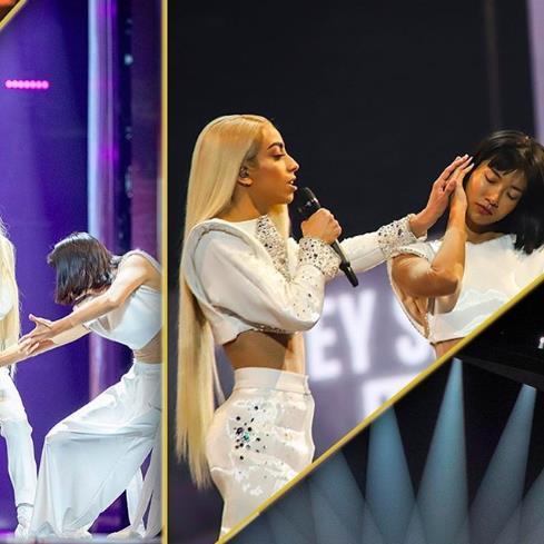 Кончита Вурст лайкает все фото представителя Франции на Евровидение! Достойная смена растет.