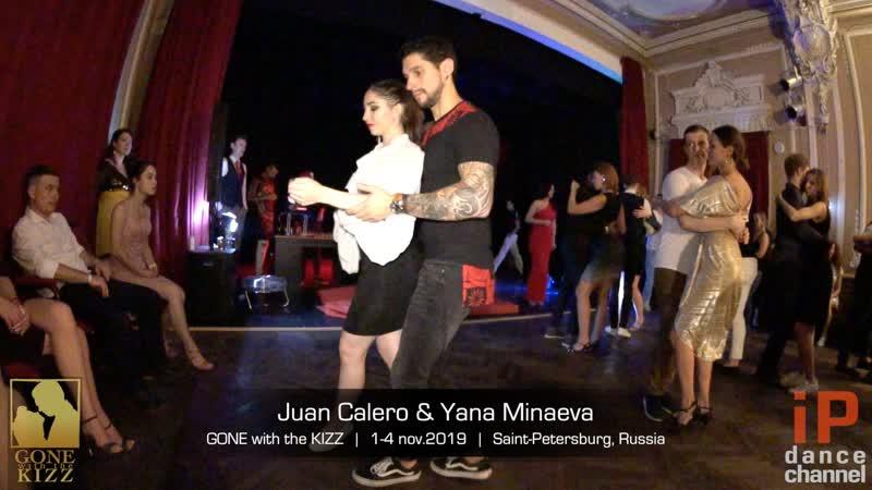Juan Calero Yana Minaeva || GONE with the KIZZ