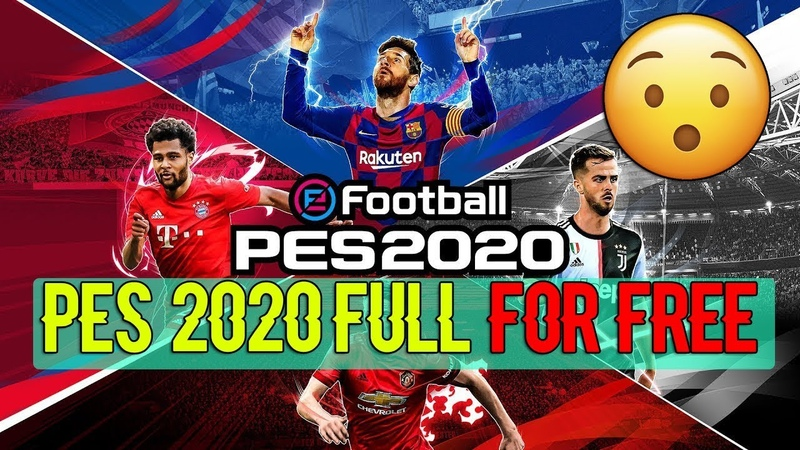 How To Get eFootball PES 2020 Full For Free Without Crack bypass download install