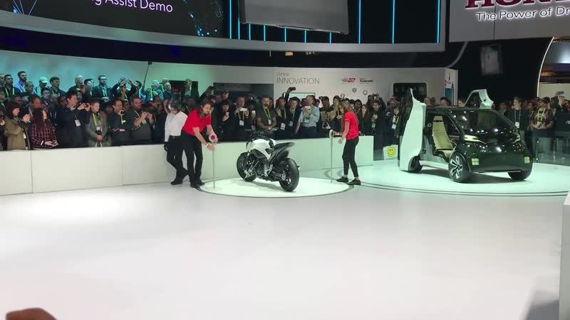 Мотоцикл который не падает