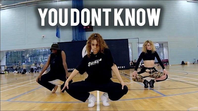 You Don't Know feat Nat Bat - 702 | Brian Friedman Choreography | HDI London