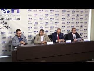 Пресс-конференция Бари Алибасова, посвященная его иску против Крота и Ашана