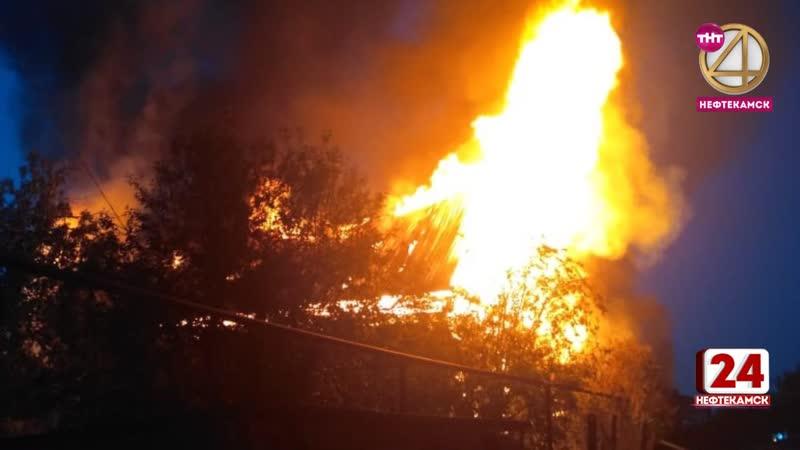 При тушении пожара обнаружены двое погибших