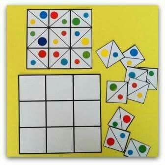 «Цветные» игры своими руками. Идеи.