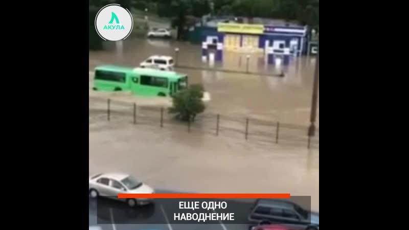 Потоп в Находке | АКУЛА