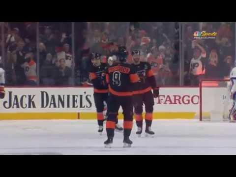 Ivan Provorov Goal - Philadelphia Flyers vs New York Islanders (11/16/19)